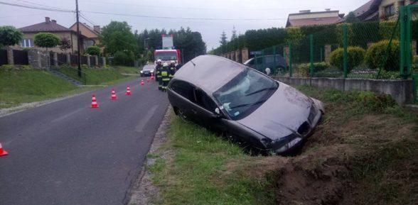 Dachowanie na ul. Sosnowej / 7 lipca 2017