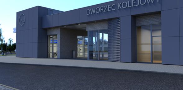 RDN / Stary dworzec w Sterkowcu w rozbiórce, lecz będzie nowy