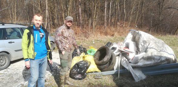 Zebrali kilkaset kilogramów śmieci